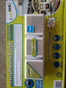 RidRite Electronic Pest Control System 2 x 3pk New Repels Ro