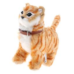 Electronic Pet Cat Stuffed Meow Toys for Kids Boys and Girls