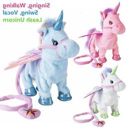 Electronic Smart Pet Unicorn Toys Singing Walking For Kids