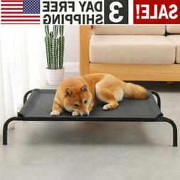 Elevated Dog Bed Pet Cot Large Pet Lounger Sleeper Hammock K