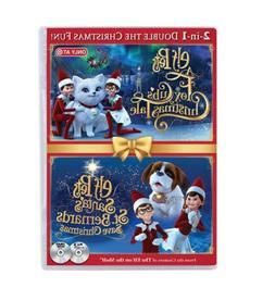 Elf Pets Fox Cub & St. Bernard  Brand New