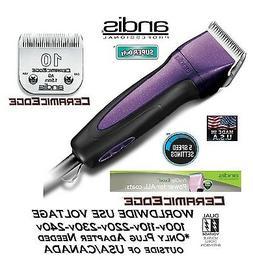 Andis Excel 5 Speed Super Clipper CERAMICEDGE #10 Blade CAT