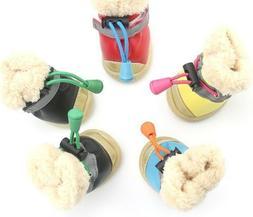 Fashion Pets Dog Shoes Anti Slips Waterproofs Cotton Super W