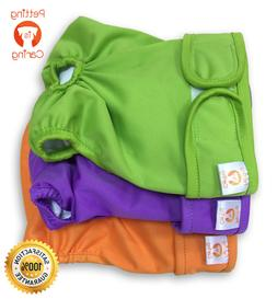 Female Dog Diapers Washable & Reusable by PETTING IS CARING
