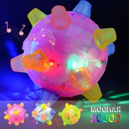 FLASHING Pet Dog Bounce Ball for Games Light-Up LED Jumping