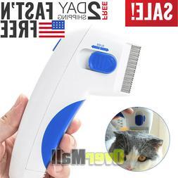Professional Comb Electric Dog Cat Pets Anti Flea Head Lice