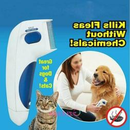 Flea Doctor Electric Dog Comb Brush for Pets Lice Remover An