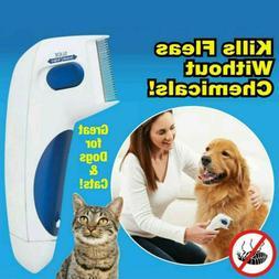 Flea Doctor Electric Flea Comb-Great for Dogs & Cats Pet Bru