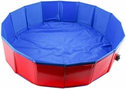 Foldable Dog Pet Bath Pool Pet Pool Bathing Swimming Bathtub