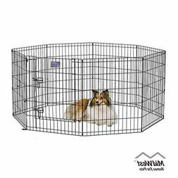 MidWest Homes for Pets Folding Metal Exercise Pen / Pet Play