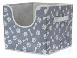Top Paw Folding Pet Storage Box  Cute, Bones