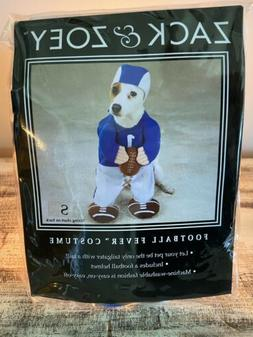 Zack & Zoey FOOTBALL Fever Colts Lions Dog Halloween Costume