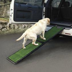 GEN7 PETS NATURAL STEP FOLDABLE DOG CAR RAMP