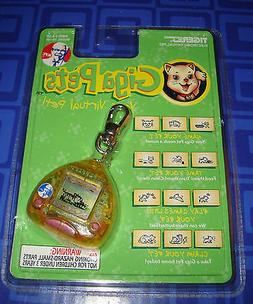 Giga Pets Cyber Kitty Electronic Keychain New In The Package