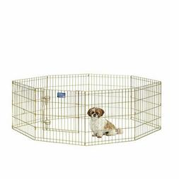 Gold Zinc Exercise Pen 24W X 24H