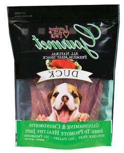 Gourmet Premium Meat Snack Dog Treat Flavor: Duck, Quantity: