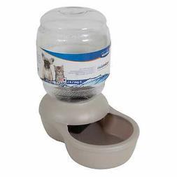 Petmate Gray Replendish Pet Waterer, X-Small, 0.5 Gallon