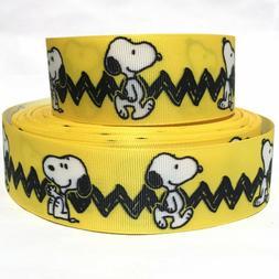 "GROSGRAIN RIBBON 5/8"", 7/8"", 1.5"" &  3"" Snoopy Dog Pet Puppy"