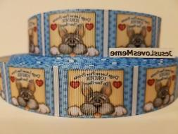 Grosgrain Ribbon Dogs Leave Paw Prints Forever On Your Heart
