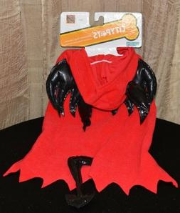 HALLOWEEN COSTUME RED DEVIL PET OUTFIT size MEDIUM NEW