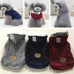 Handmade Pet Sweater Dog Cat Puppy Winter Warm Clothes Coat