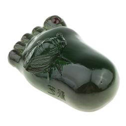 Handmade Resin Foot Shaped Tea Cute Pets on Kung Fu Tea Tray