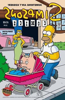Homer Pet Pig Plopper Stroller Marge Baby Bongo Simpsons Com