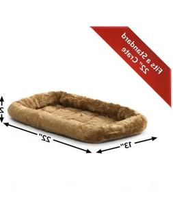 MidWest Homes For Pets 22L-Inch Cinnamon Fleece Dog or Cat B