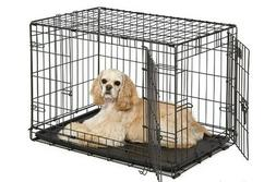 MidWest Homes for Pets Dog Crate, iCrate Single Door & Doubl