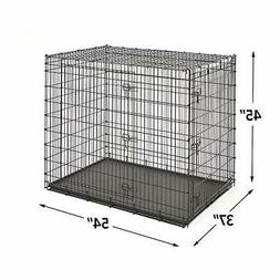 MidWest Homes for Pets XXL Giant Dog Crate | 54 Inch Long Gi