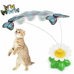 Hot sale Colorful Butterfly Funny dog Cat Toys bird Pet Seat