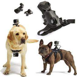 Hound Pet Dog Harness Chest Strap Belt + Buckle Mount For Sp