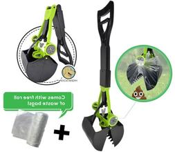 Hygena Scoop Jaw Pooper Scooper & Waste Bags for Dogs Cats P