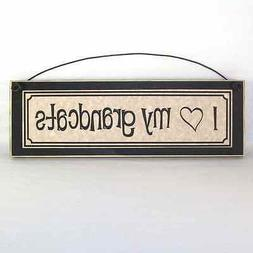 I LOVE MY GRANDCATS Funny Pet Lover Signs Plaques Gifts abou