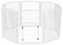 Large Indoor Outdoor Dog Pet Playpen Exercise Play Yard Cage