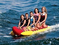 Inflatable 5 Person Towable Water Tubes Ski Flotation Tube B