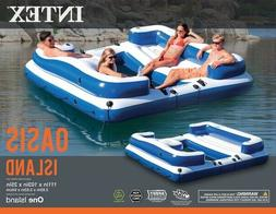 Intex Oasis Island 5 Person Inflatable Float Lounge Raft SAL