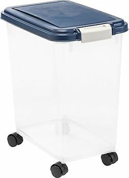 IRIS Airtight Pet Dog Cat Dry Food Storage Container, 25 / 3