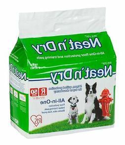 """IRIS Neat 'n Dry Premium Pet Training Pads, Regular,  17.5"""""""