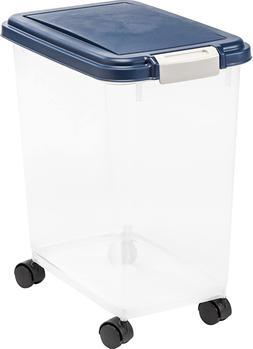 IRIS USA Airtight Food Storage Case Container for pet dog ca