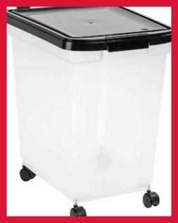 IRIS USA Nesting Airtight Pet Food Container 50 Lbs MP 400 B