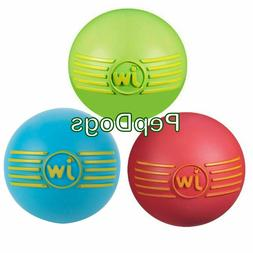 JW Pet iSqueak Ball Rubber Dog Toy - Small -- 1 Toy