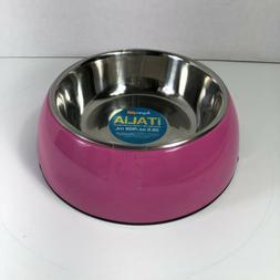 Aspen Pet Italia Feeder Dog Bowl 28.5 Oz Pink