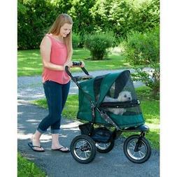 Pet Gear No Zip Jogger Pet Stroller, Green