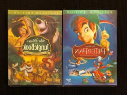 Jungle Book & Peter Pan DVD Bundle