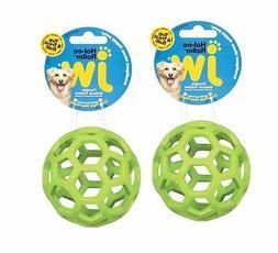 JW Hol-ee Roller Original Treat Dispensing Dog Ball Natural