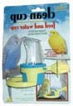 JW Pet Company Clean Cup Feeder and Water Small Cup Bird Acc