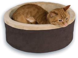 K&H Pet Products 3191 Thermo-Kitty Heated Pet Bed Small Moch