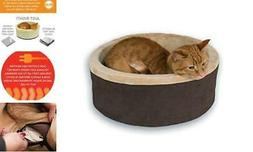 K&H Pet Products 3191 Thermo-Kitty Heated Pet Bed Small  Rec