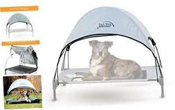 K&H Pet Products Pet Cot Canopy Large Gray Retail Packaging